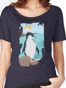 Penguin Vacation Women's Relaxed Fit T-Shirt