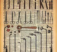 Vintage Medical Instruments by DictionaryArt