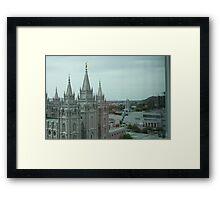 Salt Lake Temple 2 Framed Print