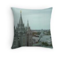 Salt Lake Temple 2 Throw Pillow