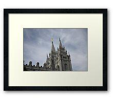 Blue Skies over Salt Lake Temple Framed Print