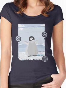 Penguin Kid Women's Fitted Scoop T-Shirt