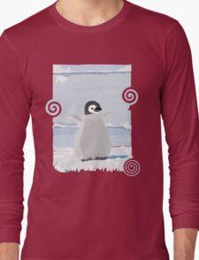 Penguin Kid Long Sleeve T-Shirt