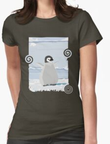 Penguin Kid Womens Fitted T-Shirt