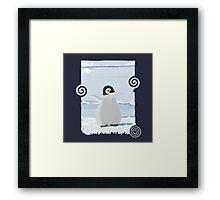 Penguin Kid Framed Print
