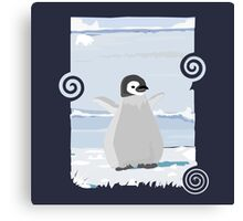 Penguin Kid Canvas Print