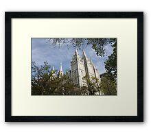 Beautiful Temple  Framed Print