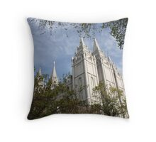 Beautiful Temple  Throw Pillow