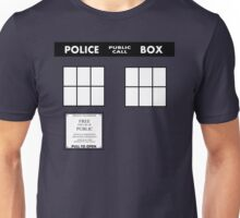 Tardis Door (Version 2) Unisex T-Shirt