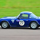 Triumph TR4 No 77 by Willie Jackson