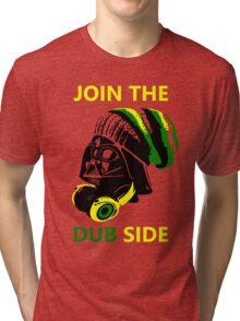 Dub Vader (green-yellow) Tri-blend T-Shirt