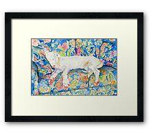 Zoe the Great Dane Pup #2 Framed Print