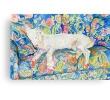 Zoe the Great Dane Pup #2 Canvas Print
