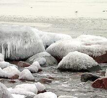 Ice Stones by Mikhail Krupenin