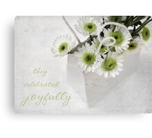 Daisy Bag Canvas Print