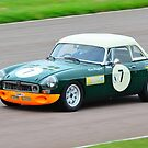 MGB Thoroughbred Sports No 7 by Willie Jackson
