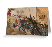 Siege of Vienna Greeting Card