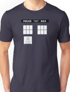 Tardis Door (Version 1) Unisex T-Shirt