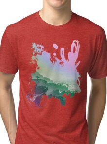 Fistral cliffs REDUX Tri-blend T-Shirt