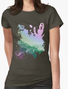Fistral cliffs REDUX Womens Fitted T-Shirt