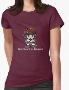 Martial Arts/Karate Boy - Bodyguard (gray font) Womens Fitted T-Shirt