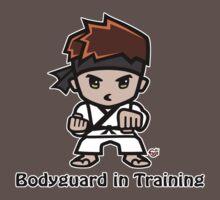 Martial Arts/Karate Boy - Bodyguard Baby Tee