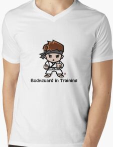 Martial Arts/Karate Boy - Bodyguard Mens V-Neck T-Shirt