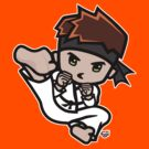 Martial Arts/Karate Boy - Jumpkick by fujiapple