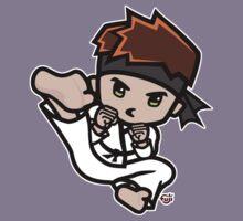 Martial Arts/Karate Boy - Jumpkick Kids Tee