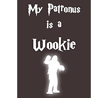 My Patronus is a Wookie Photographic Print