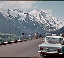 "My  first breath of fresh air and "" Free Europe "". Grossglockner High Alpine Road . Austria . 1970. by Brown Sugar. Views (292) favorited by (1)  thank you friends ! by © Andrzej Goszcz,M.D. Ph.D"