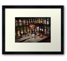 Pharmacy - Items from the specialist Framed Print