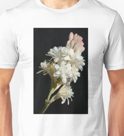 Polianthes flower Unisex T-Shirt