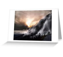 Smoky Mountain Fog Greeting Card