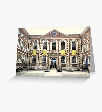 Bluecoat Chambers, Liverpool, Merseyside Greeting Card