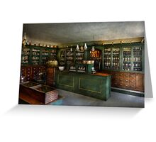 Pharmacy - The Chemist Shop  Greeting Card