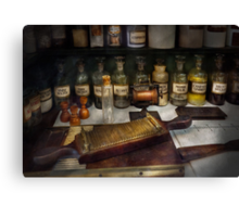 Pharmacy - The dispensary  Canvas Print