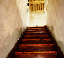 Up to the attic. by Bine