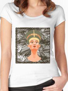 Nefertiti. Women's Fitted Scoop T-Shirt