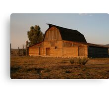Most Famous Barn in USA Canvas Print