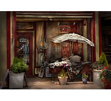 Storefront -  Frenchtown, NJ - The Boutique  Photographic Print