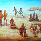 On the Beach by Malcolm McCoull