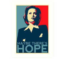 Scully: Maybe There's Hope Art Print