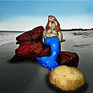 Even the Little Mermaid gets old one Day......... by Bine