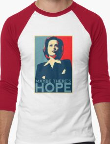 Scully: Maybe There's Hope Men's Baseball ¾ T-Shirt