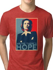 Scully: Maybe There's Hope Tri-blend T-Shirt