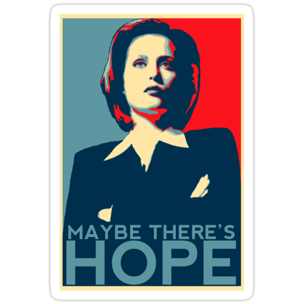 Scully: Maybe There's Hope by easyqueenie
