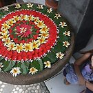 Flower child Bali by Cathie Brooker