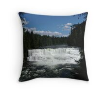 Dawson Falls Throw Pillow