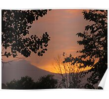 """""""July Sunset In the Rockies"""" 1 Poster"""